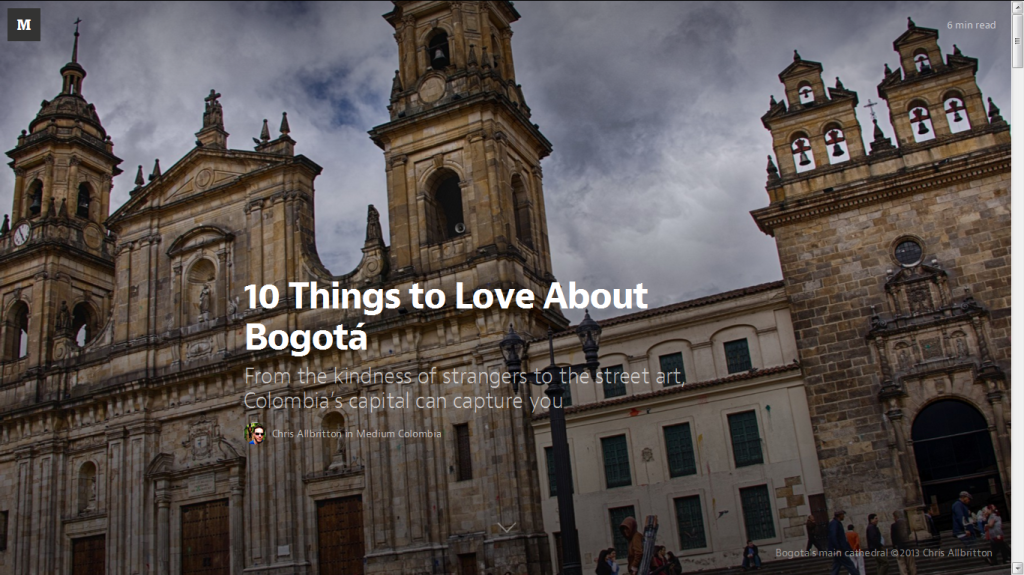 10thingsto Love about Bogota