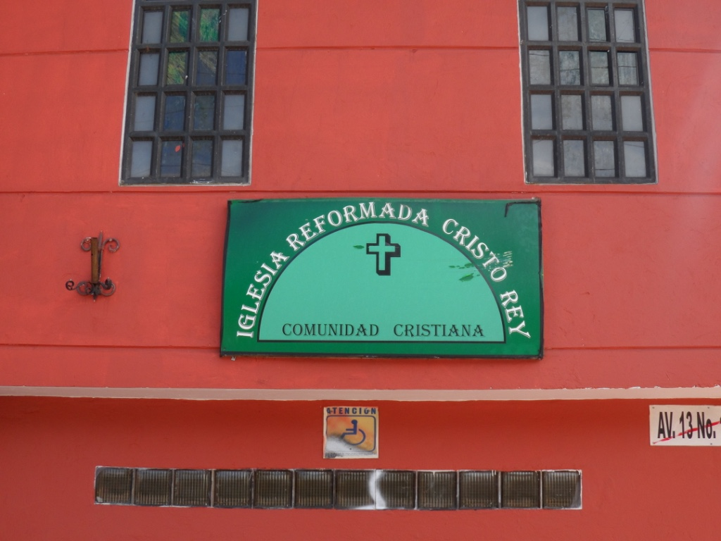 Welcome to Iglesia Reformada Cristo Rey